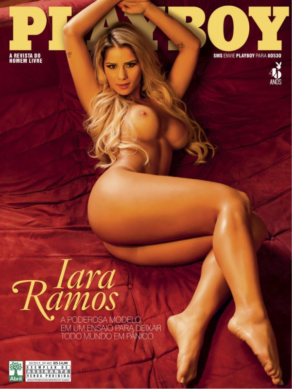 IARA RAMOS PLAYBOY OUTUBRO 2015 Part 1